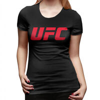 Women's UFC Red Logo T Shirts