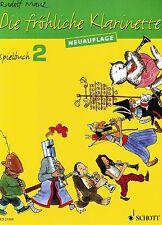 Klarinette Noten : Die fröhliche Klarinette Spielbuch 2 MAUZ leicht  - Anfänger
