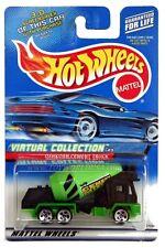 2000 Hot Wheels #123 Virtual Collection Oshkosh Cement Truck 0910 G1 crd