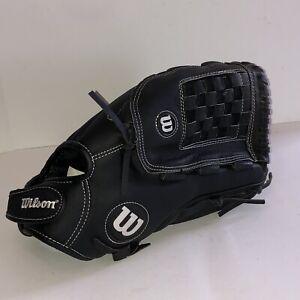 "Wilson A360 A03RS1714 14"" Slowpitch Softball Glove Right Hand Throw Black RHT NM"