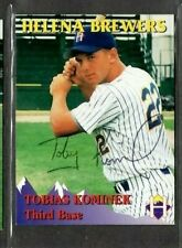 Rocky Mountain Motors #29 Tobias Kominek Helena Brewers signed autograph (E48)