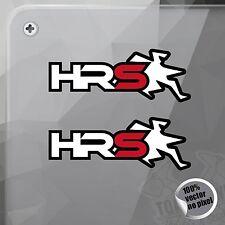 PEGATINA HEBO RACING SCOOTER VINILO VINYL STICKER DECAL AUTOCOLLANT