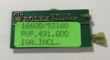 ROLEX Green Tag Oyster Swimpruf Sea Dweller 16600 A271644 1998 OEM SEADWELLER
