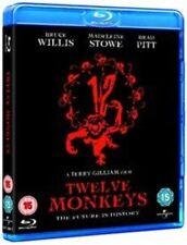 Twelve Monkeys 5050582726077 With Bruce Willis Blu-ray Region B