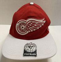 Detroit Red Wings(NHL) Red/White 47 Brand Snap-Back Adjustable Back Hat