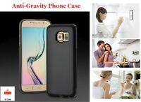 Anti Gravity Suction Sticky Selfie Phone Case Cover for Samsung S/6/7/8/9/+/Edge