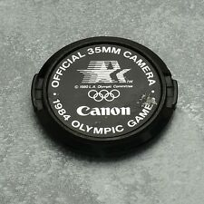 Genuine Canon FD 1984 Olympic Summer Games C 52mm Snap-On Front Lens Cap (#1343)