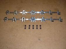 IH /  FARMALL /100 /130 /200 / 230 / FARMALL TRACTOR SIDE EMBLEMS / # 17-24-378
