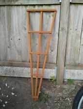 Three Fan Trellises  Approx 4ft x 1ft 100% Recycled Wood Handmade POST FREE