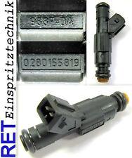 Einspritzdüse BOSCH 0280155819 Ford Focus 1,8 85 KW 988F-DA gereinigt & geprüft