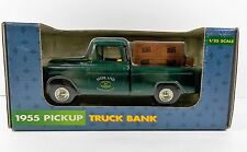 Ertl 1955 Chevy Pickup Truck Bank 1/25 Scale John Deere Midland Implement # 5614