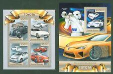 Guinea Bissau 2012 - Autos - Toyota Prius - GT 86 - 2000 GT - Lexus LFA - PKW **