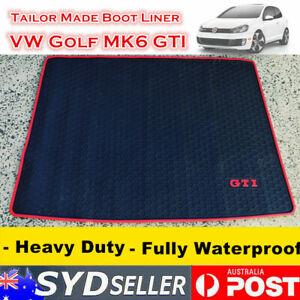 Customized Waterproof Rubber Boot Liner Cargo Mat for Volkswagen Golf MK6 GTI