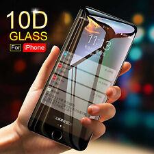 10D Complet Housse 9H Verre Trempé Protection Écran Protecteur pour Iphone 7 -