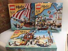 BRAND NEW & Sealed LEGO® Pirates Bundle 6242 6243 6253 / Retired Set ! Rare