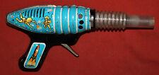Vintage Soviet Russian kid toy space hand gun tin blaster