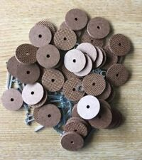 25mm Teddy Bear Cotter Pin Joints (hardboard) x 25 pins & 50 disks (for 5 bears)