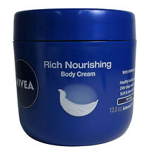 Nivea Rich Nourishing Almond Oil Body Cream for Dry Skin 13.5 oz
