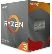 AMD Ryzen 3 3100 3,6GHz Socket AM4 Procesador de Cuantro Núcleos (100-100000284BOX)