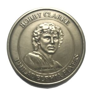 * BOBBY CLARKE Philadelphia Flyers COMMEMORATIVE COIN, November 15, 1984 *NHL
