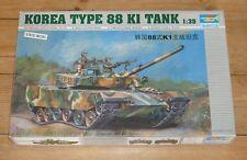 Trumpeter 1/35 scale Korea Type 88 K1 tank kit