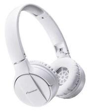 Pioneer SE-MJ553BT-W Cuffie Bluetooth Bianca microfono PER CHIAMATE VIVAVOCE