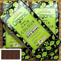 Radico Colour Me Organic Dark Brown Pflanzenhaarfarbe Dunkelbraun 100g vegan bio