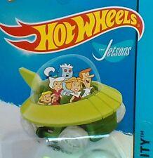 2015- Hotwheels (#57/250 NIP ) THE JETSONS Capsule Car ,HW CITY TOONED.