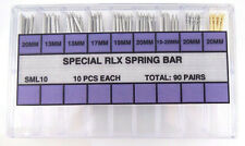 Assorted Set of 90 Spring Bars For Rolex Watches Mens and Womens