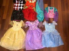 Lot Girl Dress Up Halloween Costume Genie Dc Shopkins Disney Princess Size 6 7 8