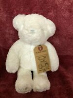 "Next  My Best Friend White Bear Soft Toy 10"" With Tag"