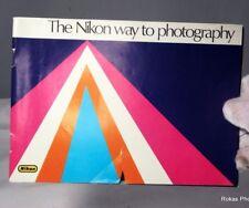 Nikon F camera The Nikon Way to Photography Instructions Manual Guide (EN)