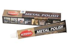 PATE A POLIR ALU CHROME INOX METAL AUTOSOL CADILLAC ATS