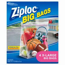 Ziploc 65644 Extra Heavy Duty Big Bags, X-Large, 4-Pack