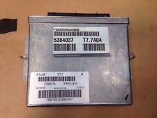 Saab 9-5 95 Motor ECU 2003 2.3 5384037 T7.7A04 5380076 309011454 868729LX