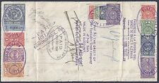 CHILE US 1926 BANK OF CHILE Y ALEMANIA VALPARAISO TO EDMOND WEIL NY FOR THE AMOU