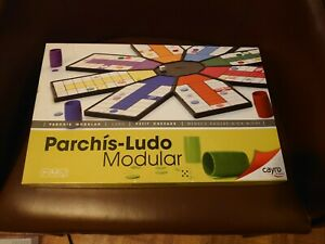 Unusual Cayro Modular Ludo Parchis Set, Lovely Board Game, Complete