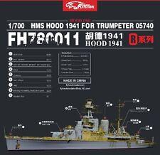 Flyhawk 1/700 780011 HMS Hood 1941 for Trumpeter
