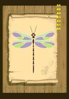 Full View of Dragonfly Stencil 350 micron Mylar not thin stuff #DFly05