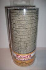 Vollmer 48720 -- Mauerplatte Naturstein, Spur 0, (1qm = € 151,67)