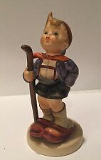 "VINTAGE GOEBEL HUMMEL ""LITTLE HIKER "" FIGURINE  # 16/4  TMK 4"