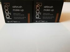 2 X Rodial Airbrush Make-Up Heavy Duty Foundation Paste 15ml Shade 05 bundle