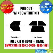 BMW 3 SERIES E30 2-DOOR 1982-1991 FULL PRE CUT WINDOW TINT KIT