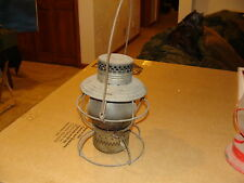 VINTAGE ANTIQUE RAILROAD LAMP PRR HANDLAN ST LOUIS RR GLOBE