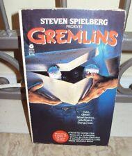 Vtg - George Cipe GREMLINS ~ Spielberg Movie 1984 1st/1st PB w/Movie Photos