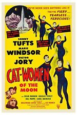 1950's Sci-Fi  * Cat - Women From Outer Space *   Movie   Poster 1953