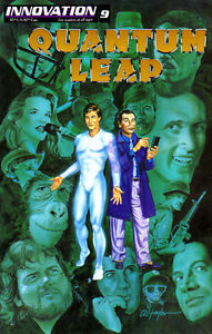QUANTUM LEAP (1991) #9 - VFN - Back Issue