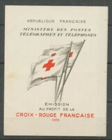 CARNET CROIX-ROUGE de 1955, Cote 450€, Neuf luxe ** Superbe X1158