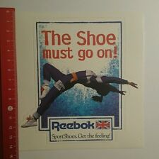 ADESIVI/Sticker: Reebok the Shoe Must Go On (011016129)