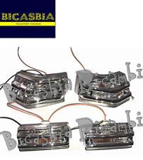 8994 - FRECCE COMPLETE CON GRIGLIA BIANCHE VESPA 125 150 200 PX - ARCOBALENO